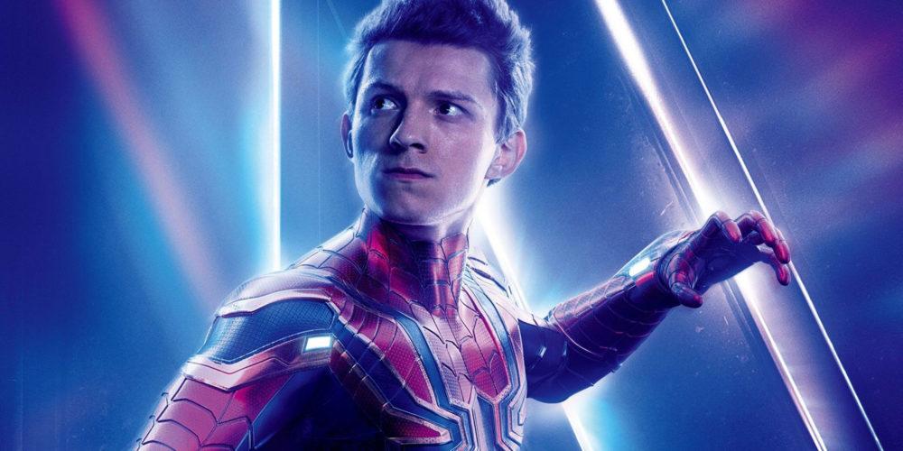 تام هالند در نقش مرد عنکبوتی