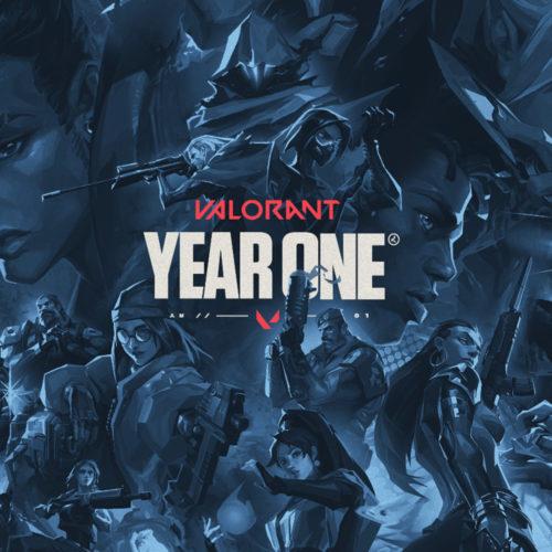 یک سالگی عنوان Valorant