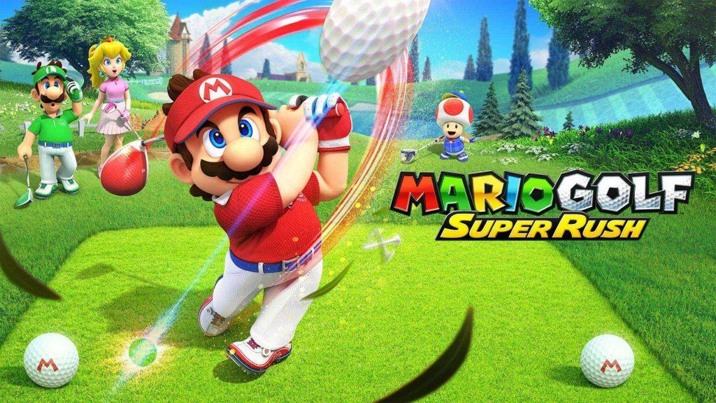 پرفروشترین بازیهای هفتهی اول تیر بازی Mario Golf: Super Rush