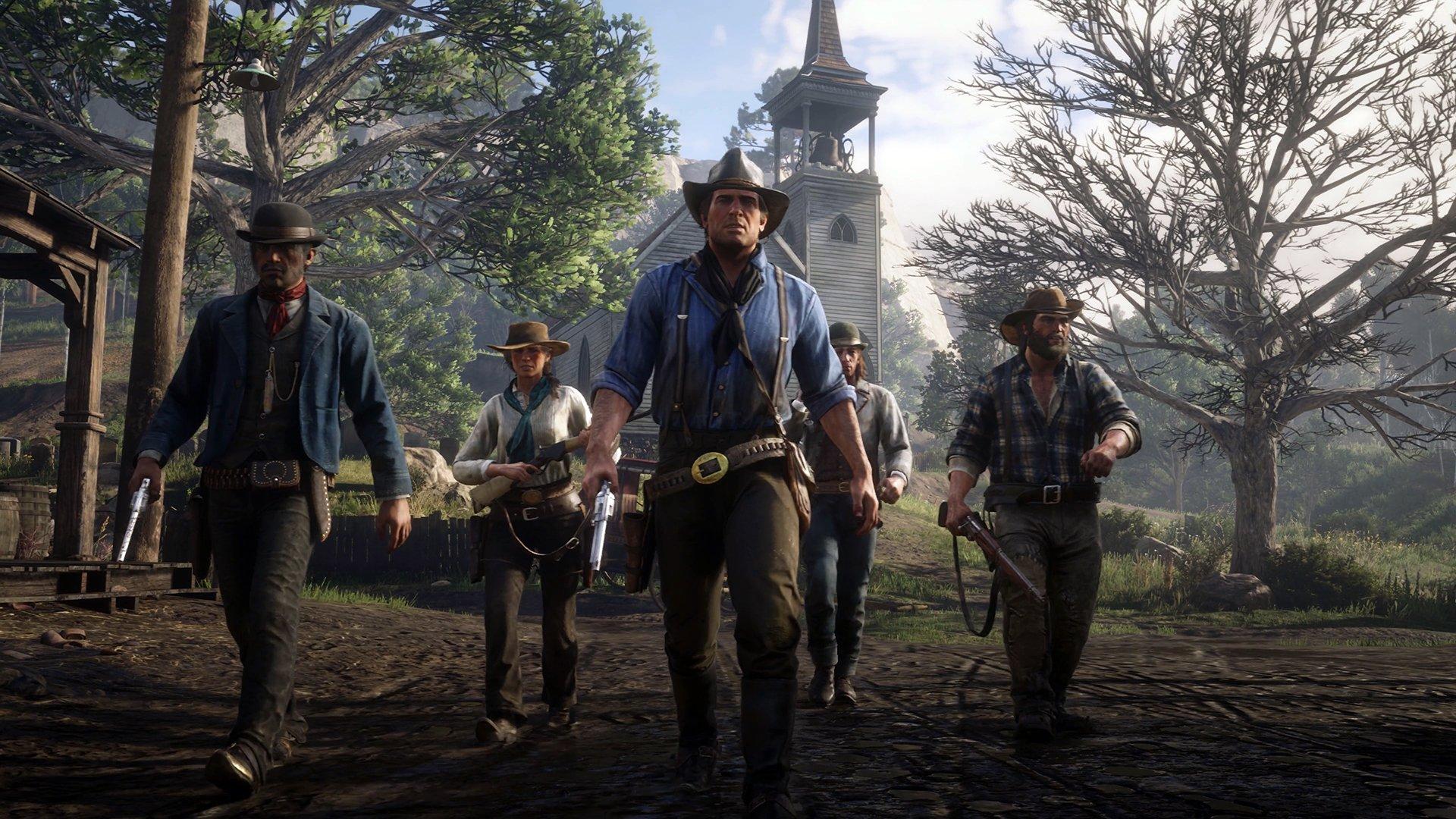 آرتور مورگان در بازی Red Dead Redemption 2