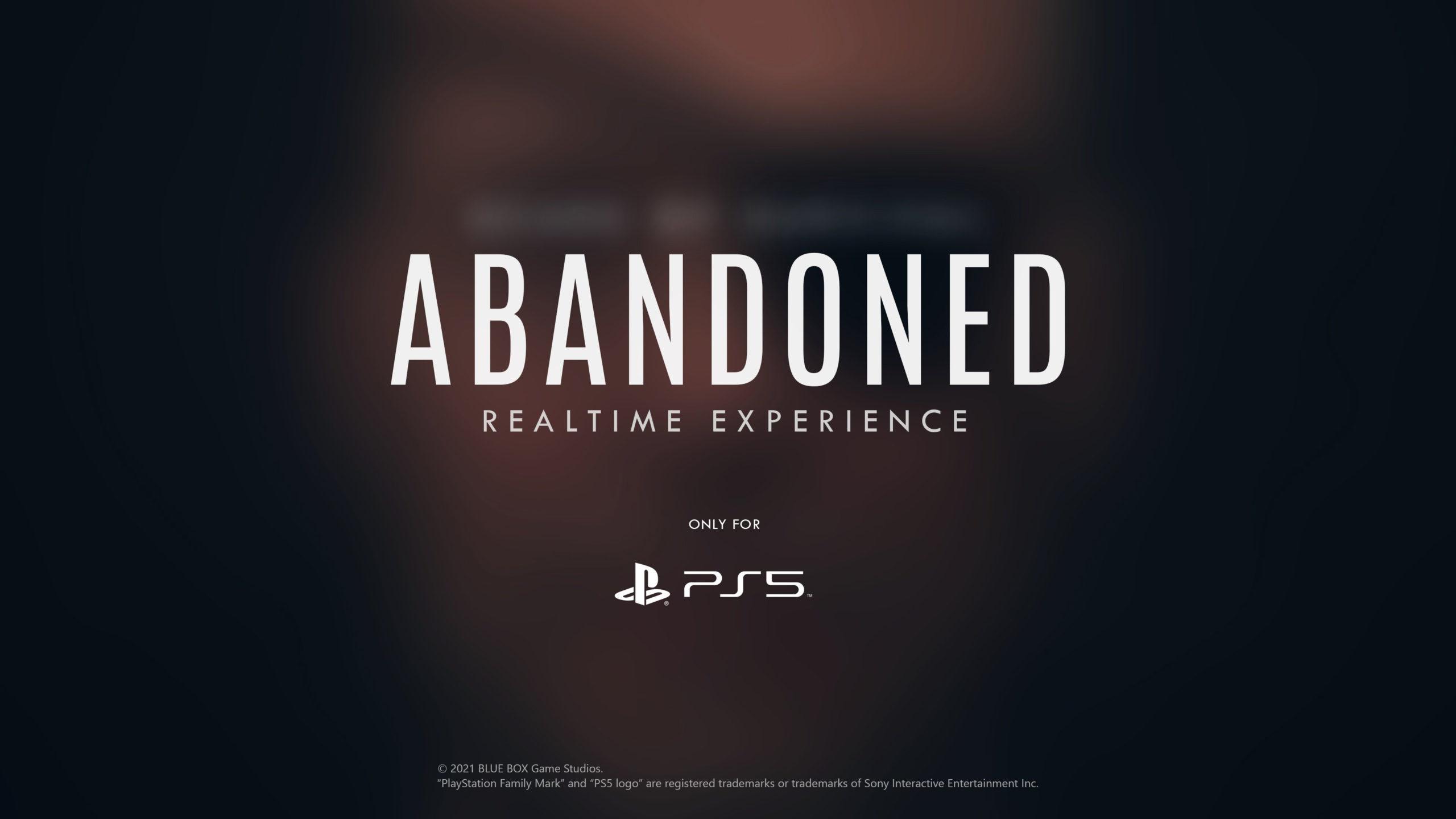 تصویر تبلیغاتی بازی Abandoned