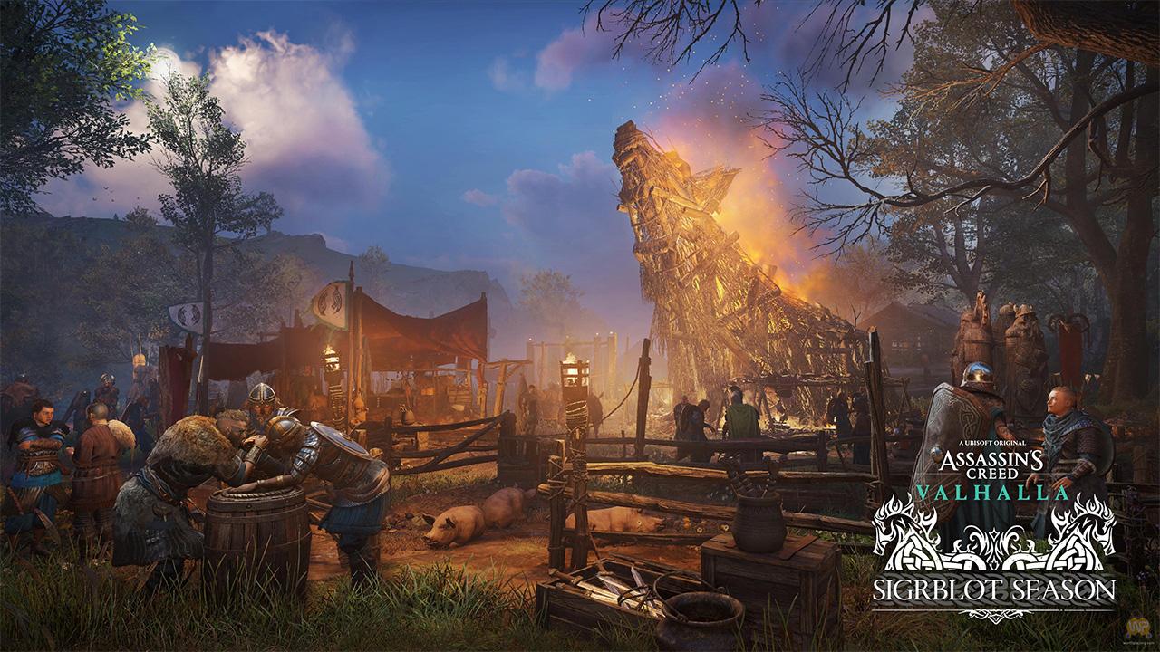 تاریخ انتشار فصل Sigrblot در Assassin's Creed Valhalla