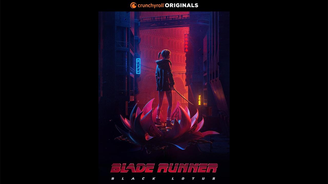 اولین پوستر رسمی انیمه Blade Runner: Black Lotus