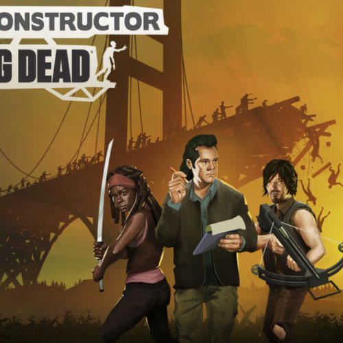 بازی Bridge Constructor: The Walking Dead