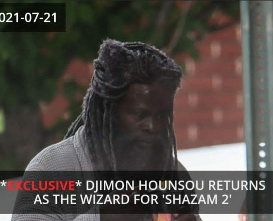 جایمن هانسو در Shazam 2