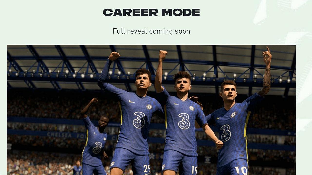 کریر مود بازی FIFA 22