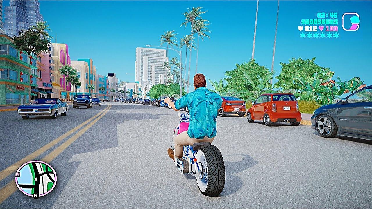 مود جدید بازی GTA V و ریمیک Vice City
