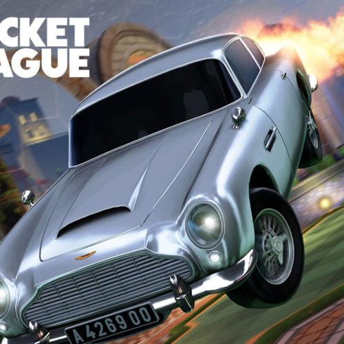 باندل جیمز باند در بازی Rocket League