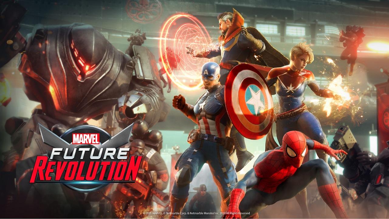 بازی موبایل Marvel Future Revolution