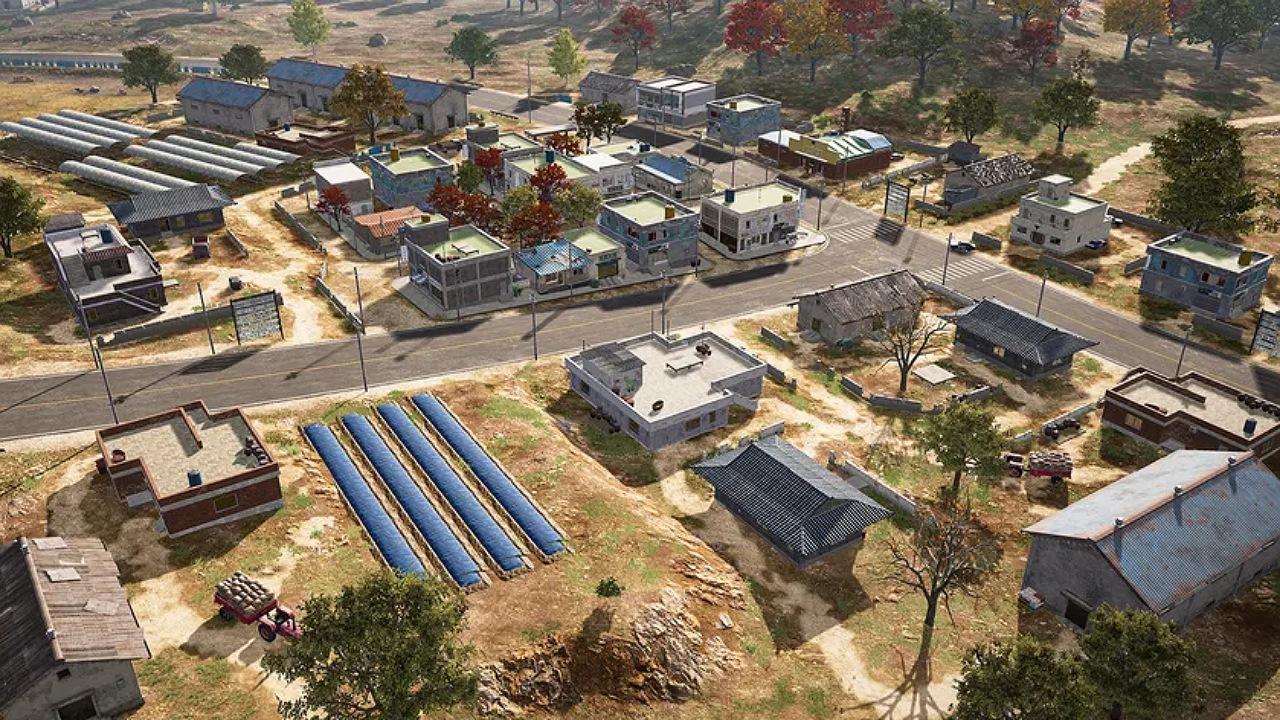 نقشه جدید بازی PUBG