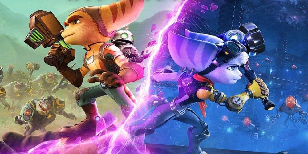 پرفروشترین بازیهای ماه ژوئن بازی Ratchet & Clank: Rift Apart