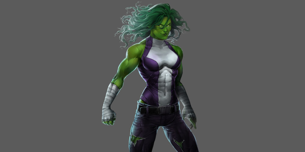 فیلمنامه سریال She-Hulk