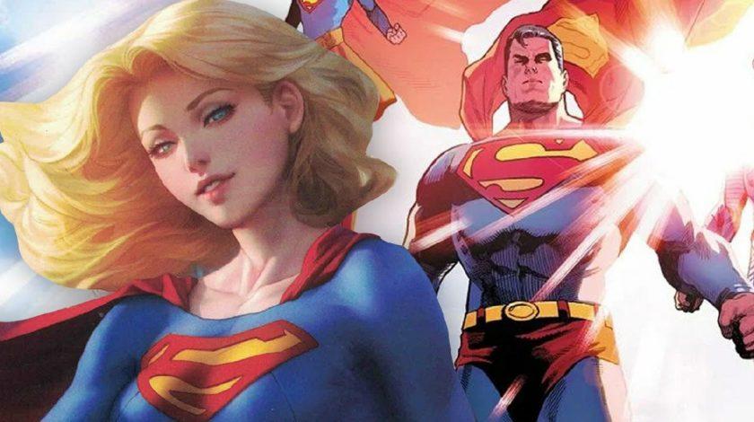 سوپرگرل در برابر سوپرمن