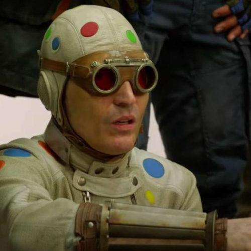 پولکا دات من در The Suicide Squad