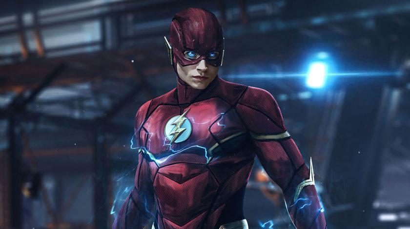 لباس جدید فلش در فیلم The Flash