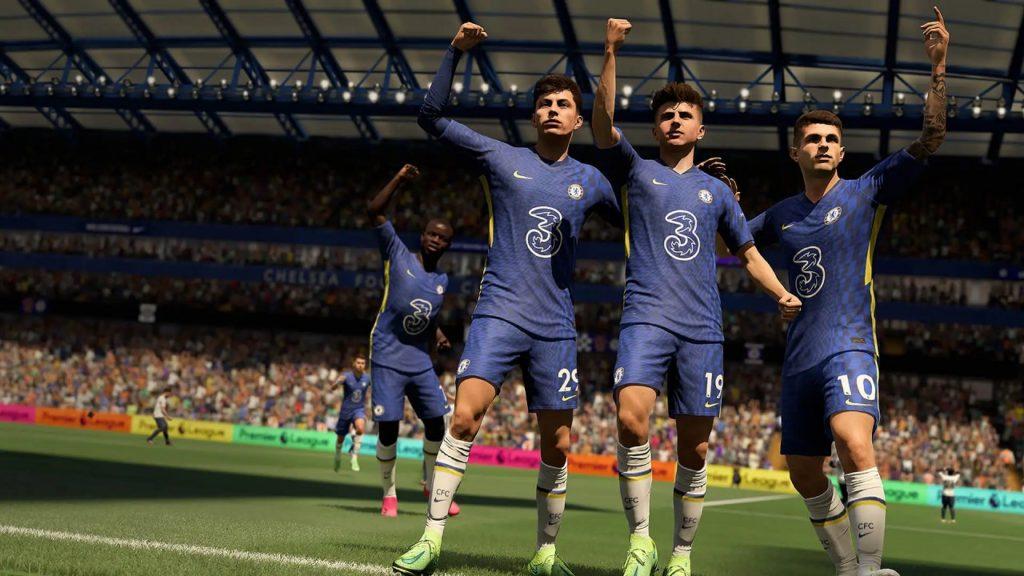 بازیهای EA Sports و FIFA 22