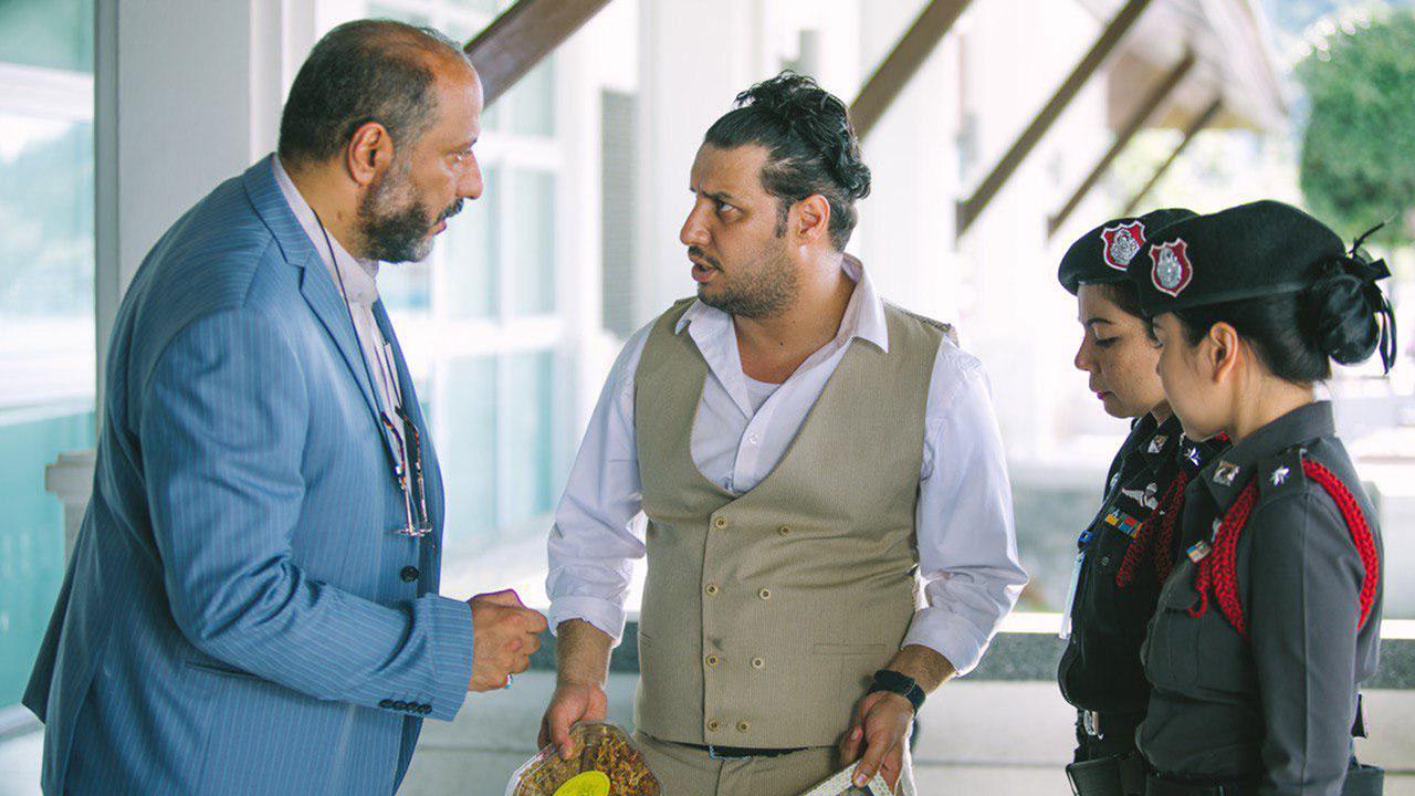 امیر جعفری و جواد عزتی در فیلم چهار انگشت