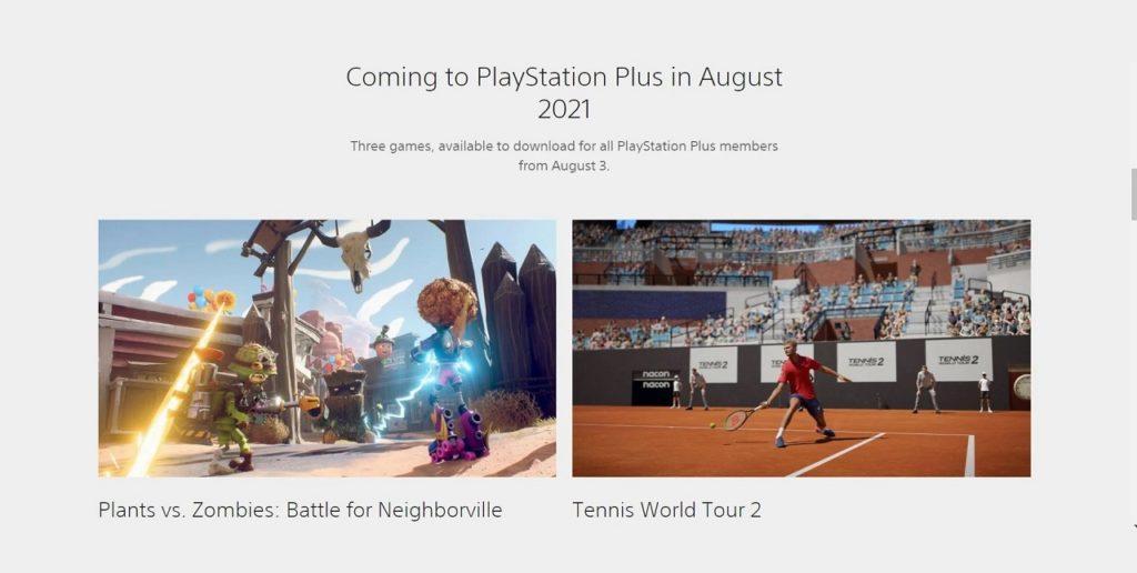 بازیهای رایگان ماه آگوست پلیاستیشن پلاس