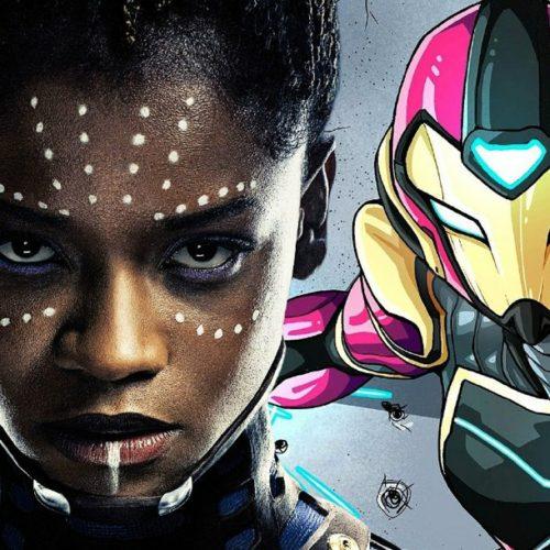 دختر آهنی در پشت صحنه فیلم Black Panther 2