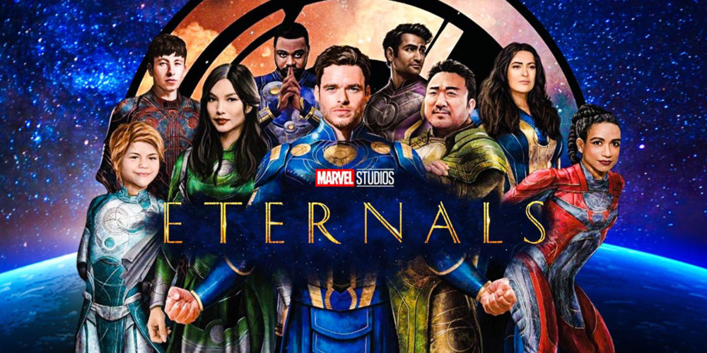 پوسترهای متحرک فیلم Eternals