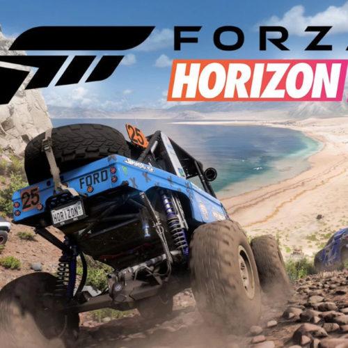 کاور بازی Forza Horizon 5