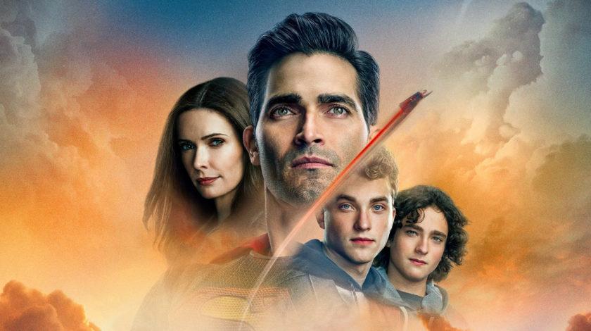 پوستر قسمت آخر فصل اول سوپرمن و لویس