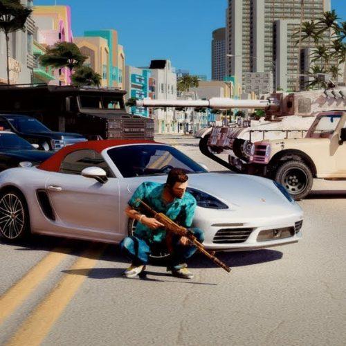 ریمستر بازی GTA: Vice City
