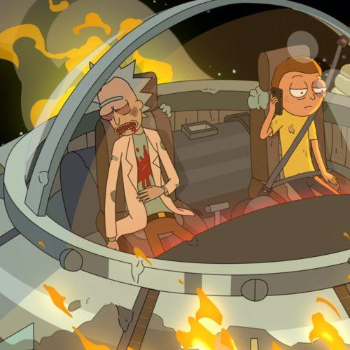 تریلر قسمتهای پایانی فصل پنجم ریک و مورتی