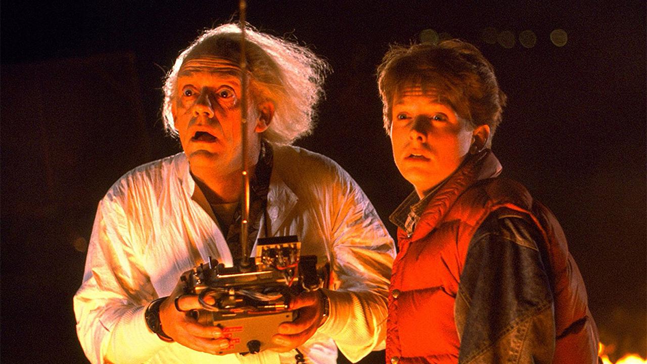 داک و مارتی در فیلم Back to the Future