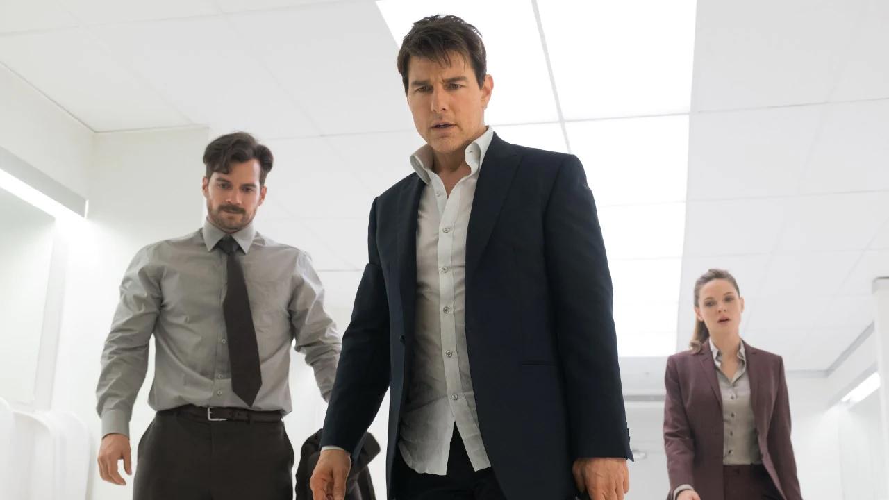 عکس پشت صحنه Mission: Impossible 7