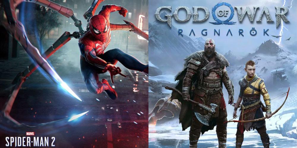 بازدید تریلر Spider-Man 2 و GoW Ragnarok
