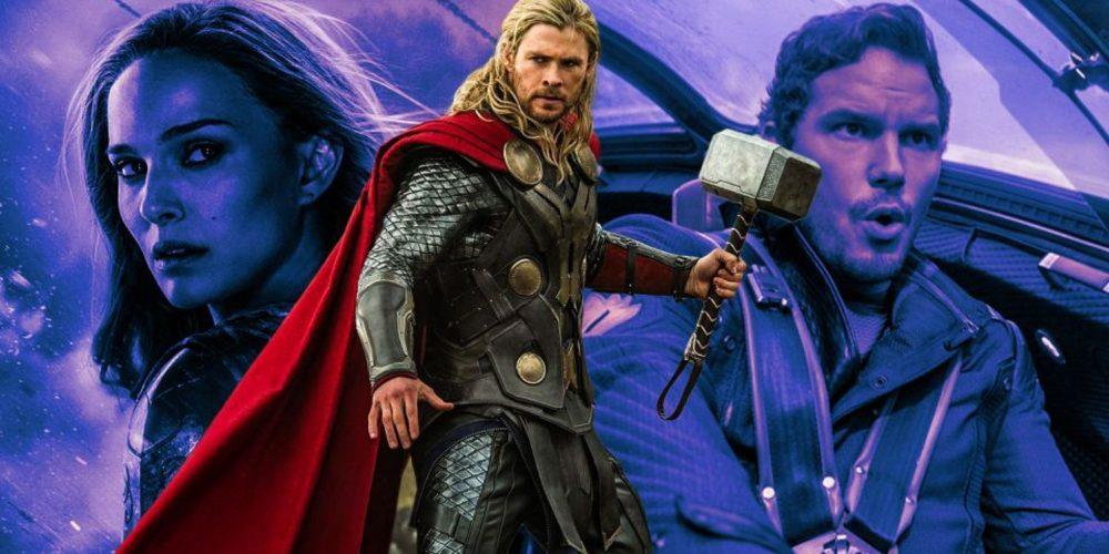 لوگو جدید فیلم Thor 4