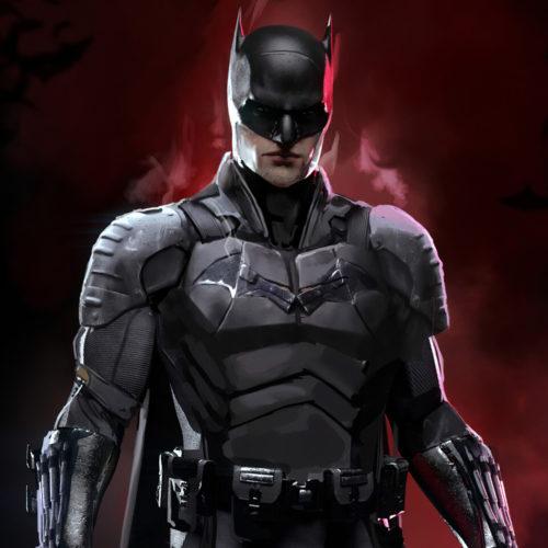 تصویر پشت صحنه The Batman