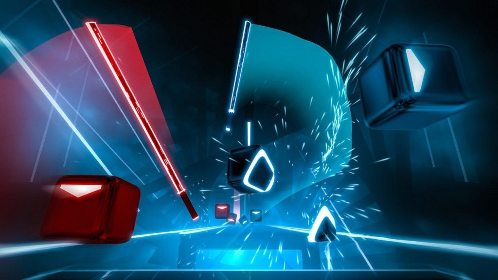 بازیهای PSVR پنجمین سالگرد پلیاستیشن ویآر بازی Beat Saber