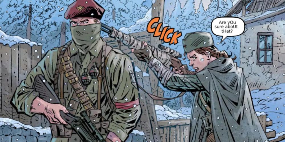 کمیک Call of Duty: Vanguard