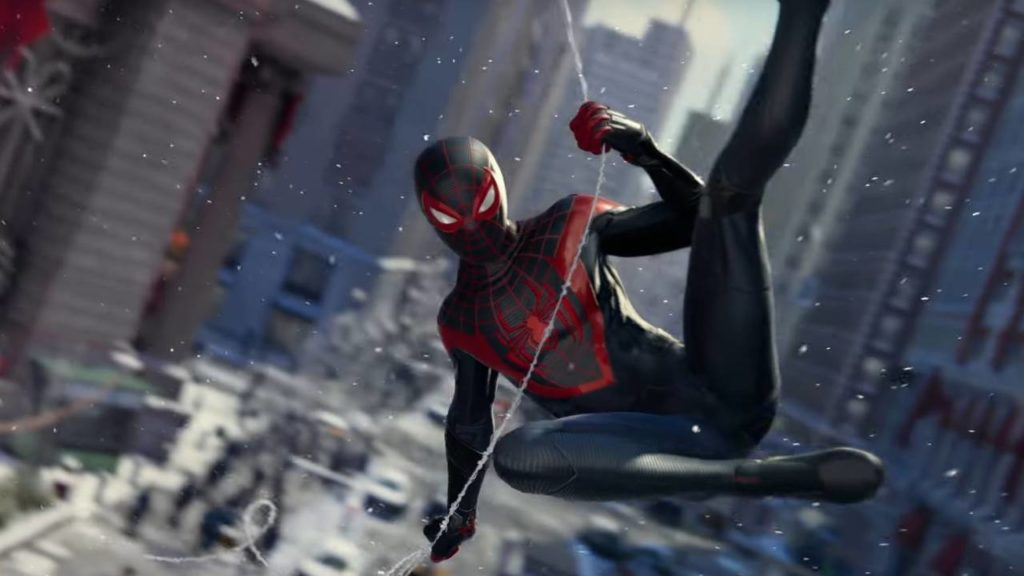 پرفروشترین بازیهای هفتهی اول مهر بازی Spider-Man Miles Morales