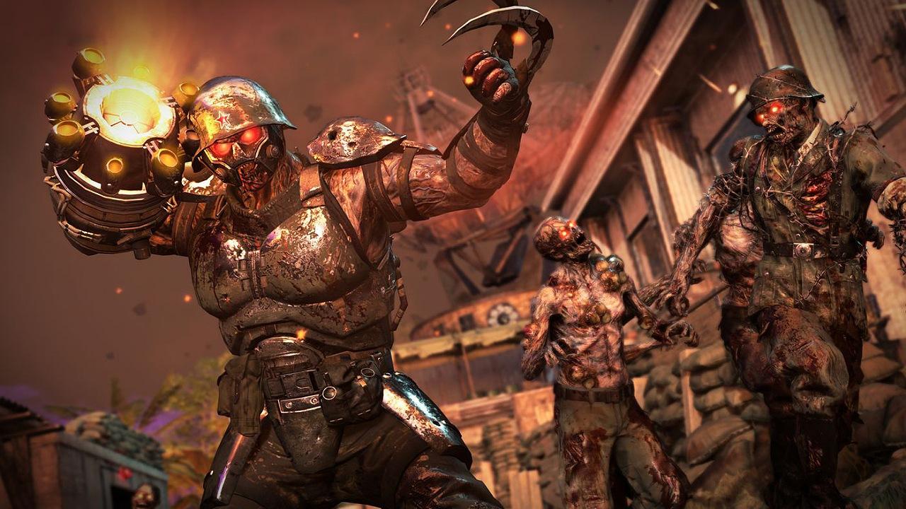 زامبی بازی Call of Duty: Vanguard