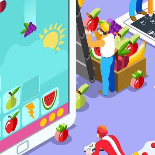 ساخت بازی های موبایل