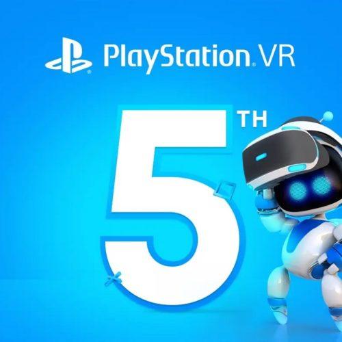 بازیهای PSVR پنجمین سالگرد پلیاستیشن ویآر